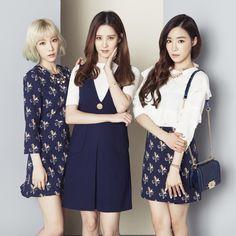 Girls' Generation: Taeyeon, Tiffany & Seohyun for MIXXO Spring 2016 Collection | KPOPGIRLSININDIA