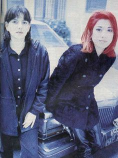Miki & Emma (Lush) Lush Band, Anthony Kiedis, Aesthetic People, Britpop, Music Pictures, Grunge Girl, Music People, Album, World Music