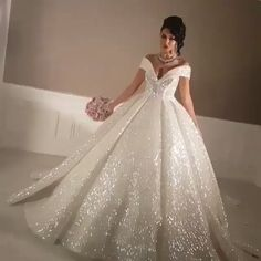 Ball Gown Wedding Dress, Sparkly Wedding Dresses with SlitYou can find Ball gown wedding and more on our website.Ball Gown Wedding Dress, Sparkly Wedding Dresses with Slit Slit Wedding Dress, Princess Wedding Dresses, Wedding Dress Styles, Dream Wedding Dresses, Bridal Dresses, Ballgown Wedding Dress, Cinderella Wedding Dresses, Wedding Dresses With Bling, Wedding Ball Gowns