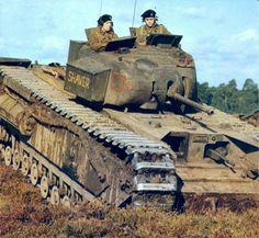 British Army Wwii World War Guns World Of Tanks, Churchill, Ww2 Panzer, Afrika Corps, Tank Armor, Tiger Tank, Armored Fighting Vehicle, Ww2 Tanks, Military Armor