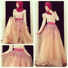 Tesettür Mezuniyet Elbise Modelleri - http://www.proporsiyon.com/tesettur-mezuniyet-elbise-modelleri.html