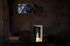 Ceiling lamp above old desk Old Desks, Old Singers, Old Furniture, Ceiling Lamp, Attic, Modern, Vintage, Home Decor, Old Tables