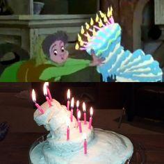 Disney Sleeping Beauty -- Aurora's Birthday Cake