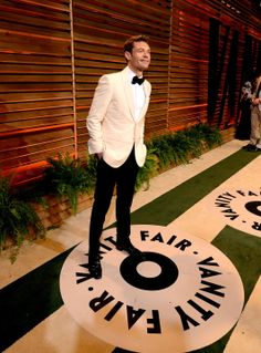 Ryan Seacrest at the 2014 Vanity Fair Oscar Party