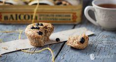 muffin mirtilli cocco