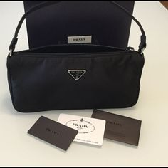 Authentic Prada Tessuto!