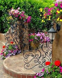 A nice corner in the garden