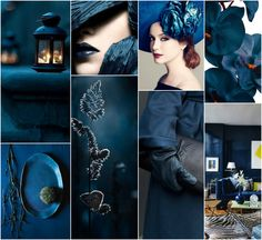 """Polish blogger Maria analyses shades of blue right for each season type:  Prussian Blue.  """"For True Spring, Soft Summer, Soft Autumn, True Autumn, Deep Autumn.  Perhaps for Deep Winter. """""""