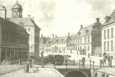 Rechts het stadhouderlijk hof in leeuwarden / ook een paleis van Marijke Meu.