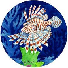 Beautiful lionfish s