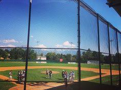 Just another Saturday. Cal Ripken State championship game. #gopigs #bpweather