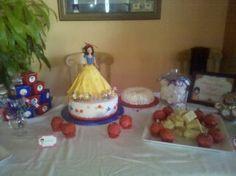Snow White Party Table