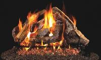R. H. Peterson RealFyre Woodstack Designer Vented Gas Log Set (WS) Fireplace Vent, Forest Resources, North Atlanta, Free Gas, Casual Living Rooms, Log Fires, Gas Logs, Radiant Heat, Steel Rod