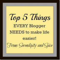 every blogger needs