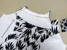 VESTIDO EN BLANCO Y NEGRO | De costuras y otras cosas | Bloglovin' Fashion Sewing, Textiles, Charts, Connect, Dresses, Facebook, Design, Sewing Tips, White Party Dresses