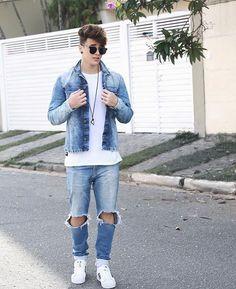 #denim #denimlove #denimstyle #RAW #Jeans #richtig #kombinieren #männermode #trend   weitere stilbewusste Denim-Styles auf: davefox87   more denimtrends on: davefox87