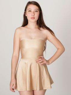 Nylon Tricot alta Cintura Falda | Ropa Mujer | | Vestidos American Apparel