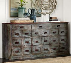 Finish for buffet??? Clerk's Console Table | Pottery Barn