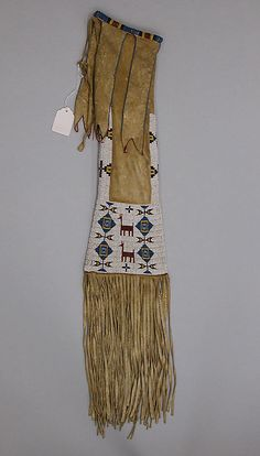 Pipe Bag  Date: ca. 1890 Geography: United States Culture: Cheyenne