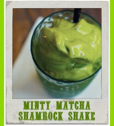 from babble vegan minty matcha shake for march healthy shamrock shake ...