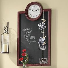 Blackboard Clock from Through the Country Door® | NI43152