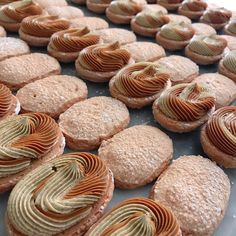 Dacquoise, Macarons, Sweet Treats, Muffin, Aesthetics, Sweets, Cookies, Breakfast, Desserts
