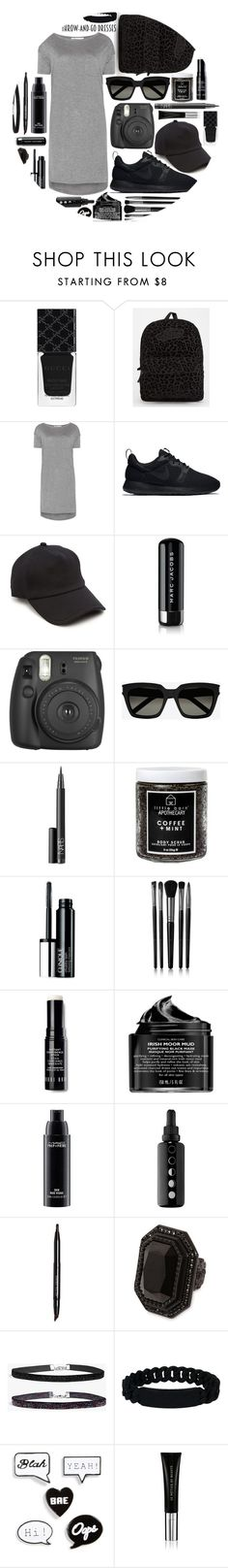 """Throw and Go Dress: Contest Entry"" by isquaglia ❤ liked on Polyvore featuring Gucci, Vans, T By Alexander Wang, NIKE, rag & bone, Marc Jacobs, Fujifilm, Yves Saint Laurent, NARS Cosmetics and Little Barn Apothecary"