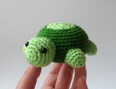Crochet amigurumi turtle spring   nursery children plush toy  I REALLY NEED TOLEARN HOW TO CROCHET