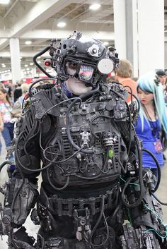 Outfits · Halloween Prop · BORG #Cosplay #SLC #FanX #2014 & Star Trek awesome Borg cosplay | Cosplay | by Mel - Star Trek ...