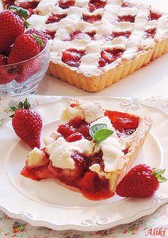 Strawberry Pie - prhka pita sa filom od jagoda