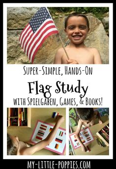 Super-Simple, Hands-On Flag Study with Spielgaben, Games, and Books | My Little Poppies