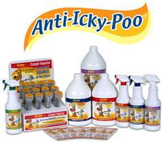 Anti Icky Poo Logo With Products