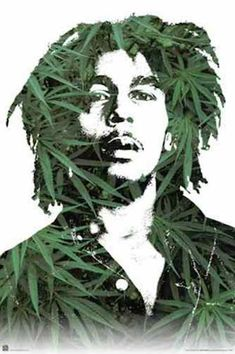 A great portrait poster of Reggae icon Bob Marley! As a Rastafarian, he believed in marijuana's sacred power! Check out the rest of our amazing selection of Bob Marley posters! Need Poster Mounts. Bob Marley Dibujo, Bob Marley Kunst, Bob Marley Art, Bob Marley Legend, Pop Art, High Society, Ganja, Bob Marley Pictures, Nesta Marley