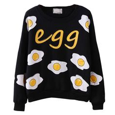 Poached Egg Sweater · Khujii · Online Store Powered by Storenvy