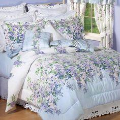 Wisteria Garden Comforter Set