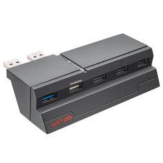 Hub USb para PS4 Trust GXT215 5 puertos USB #friki #android #iphone #computer #gadget