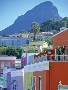 Bo Kaap, Cape Town, South Africa   The colorful Bo-Kaap district of Cape Town was once populated by slaves brought from Indonesia and Malaysia, and the bustling, historic district is still rich in Cape Malay culture and food: Come here for samosas and spicy curries, and a distinctly Southeast Asian spin on New Year's Day.