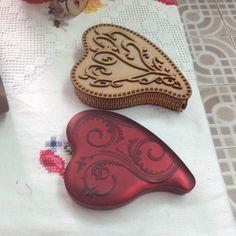 Caja en forma de corazón para chocolates