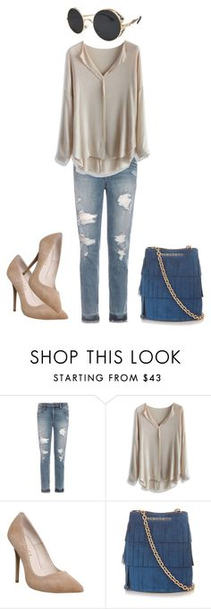 """""""feel so hippie"""" by monica-felicity ❤ liked on Polyvore featuring Joe's Jeans, Chicwish, Office and Burberry"""