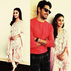 Nice couple sid aliya