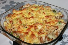 Ostekylling i form The Dish, Cauliflower, Macaroni And Cheese, Food And Drink, Lunch, Dishes, Baking, Vegetables, Ethnic Recipes