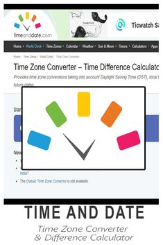 Find the exact time difference with the Time Zone Converter – Time Difference Calculator which converts the time difference between places and time zones all over the world. Time Zone Converter, Home Clock, World Clock, Great Apps, Daylight Savings Time, Time Zones, News India, Virtual Assistant, Different