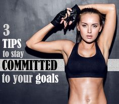 Stay on track with your goals by following these three simple tips.  -  Need an accountability group?  Let's connect!  Email me at getfit2stayhealthy@gmail.com and send me a list of your goals and lifestyle and we'll work together!  You are not alone! #FitnessTip #BeachbodyBlog #GetFit2StayHealthy