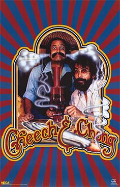 ☮ American Hippie Weed Quotes ~ Cheech + Chong
