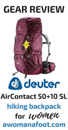 3c6d4e4ec67 Looking for a hiking backpack? Check if Deuter AirContact 50+10 SL is the