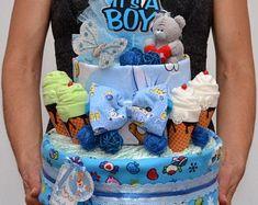 couches gâteaux Violet bébé pieds gros-grain ruban gâteau//cadeau décoration baby shower