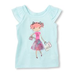 35e3a4a66ed5 50 Best Children s place girls graphic tees images