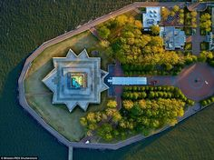 Statue of Liberty: Photographer Jeffrey Milstein captured these stunning images of New York from the side of a helicopter
