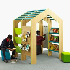 Reading Corner Furniture compact reading house for ks1 classroom corners. easy to install