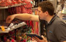 steekproefcontrole: Controle van een bepaald deel van de geleverde goederen